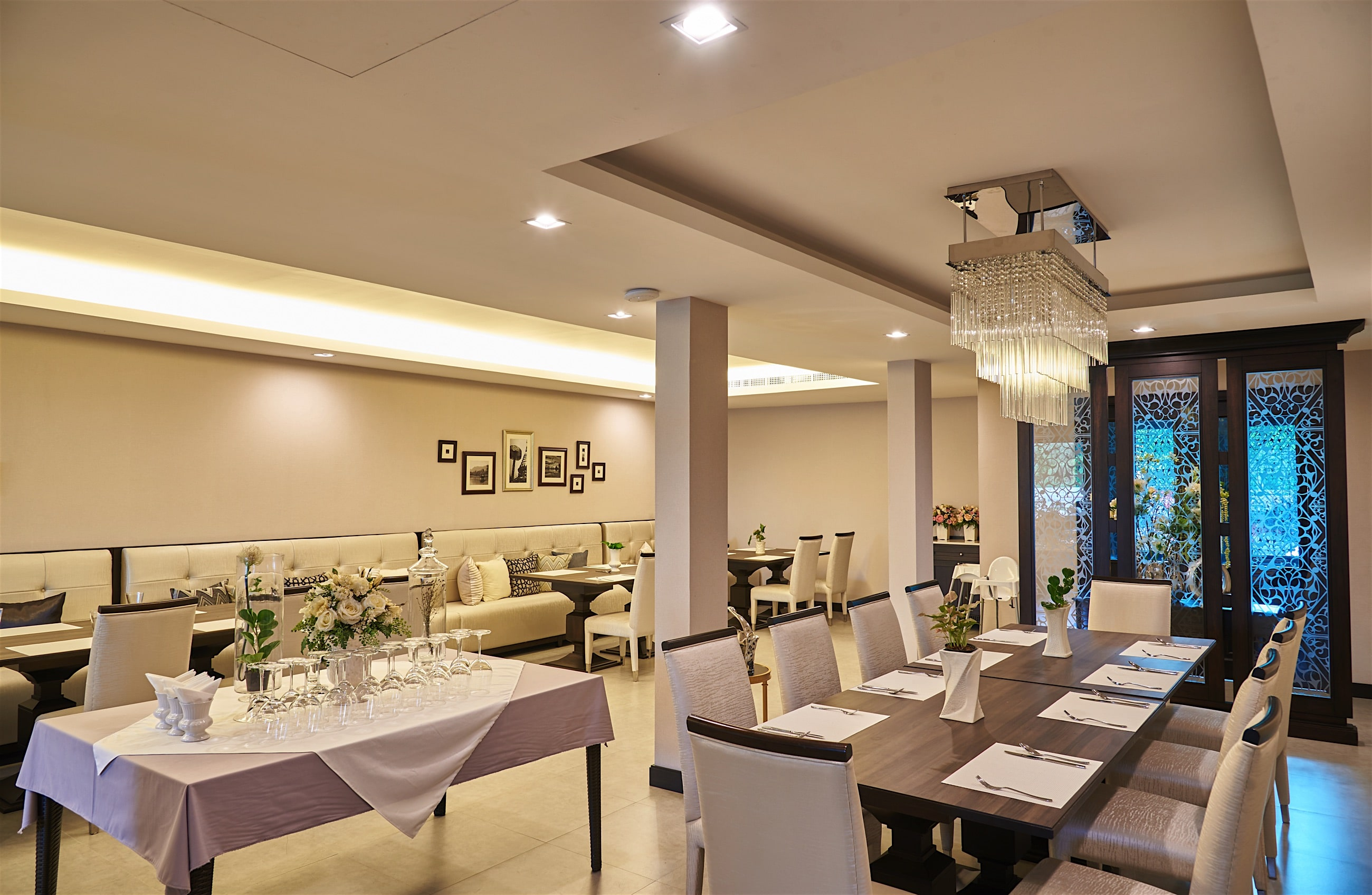 The Vorra Bistro Fine Indoor Dining in Chiang Mai.